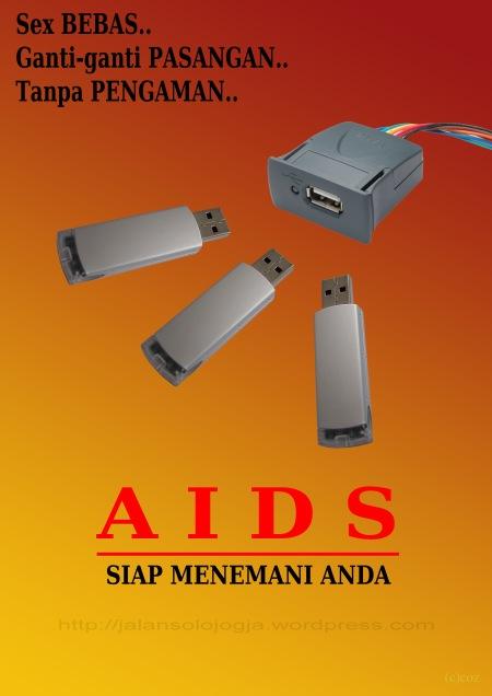 poster hiv aids koko
