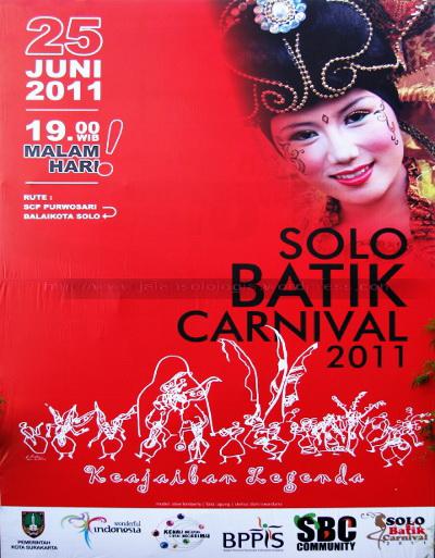 poster solo batik carnival 2011